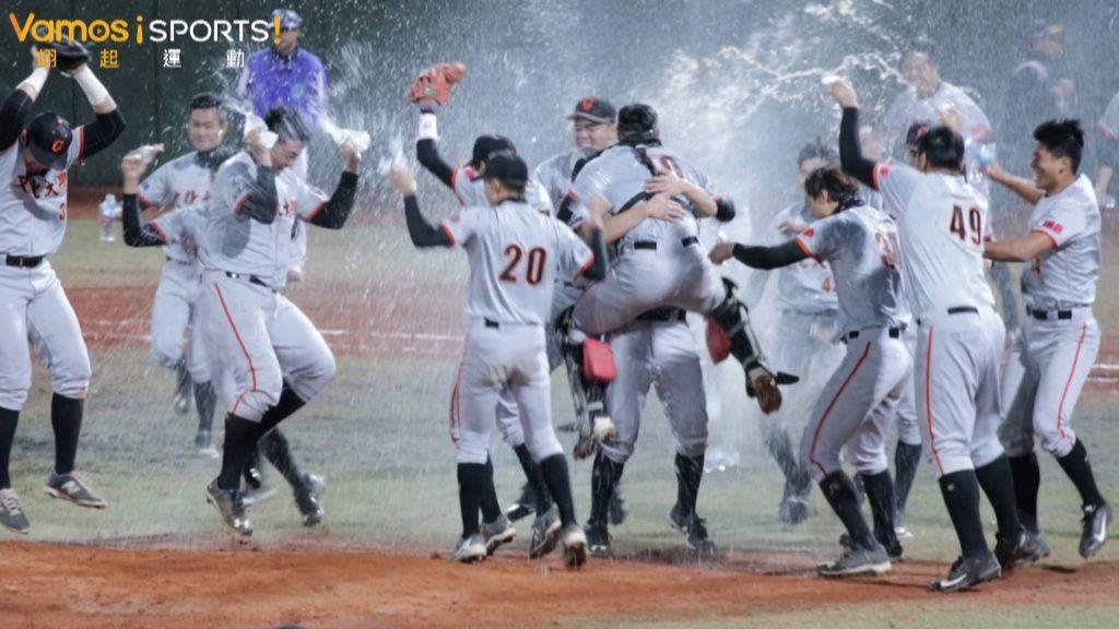 棒球》文化10:4擊敗台體 收下隊史第十座大專盃冠軍