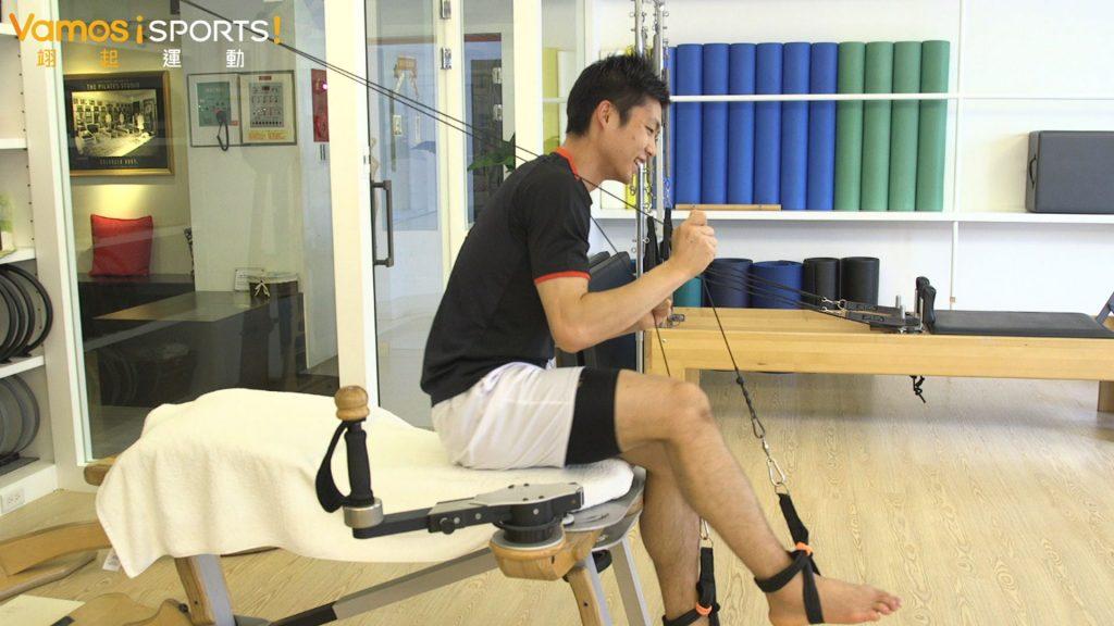 羽球》周天成特訓大公開 「螺旋運動」助平衡