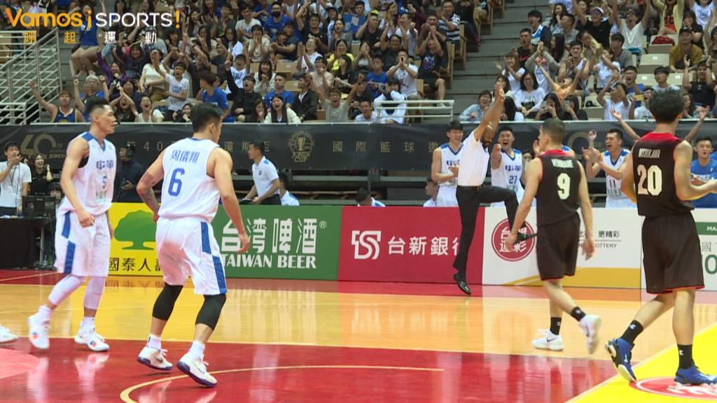 籃球》劉錚第四節獨得11分  中華隊74比67勝日本