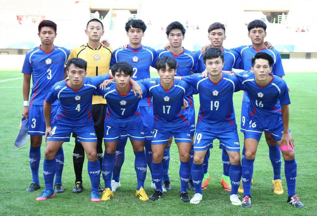 雅加達巨港亞運》 0:4敗給香港 中華男足無緣分組前二名