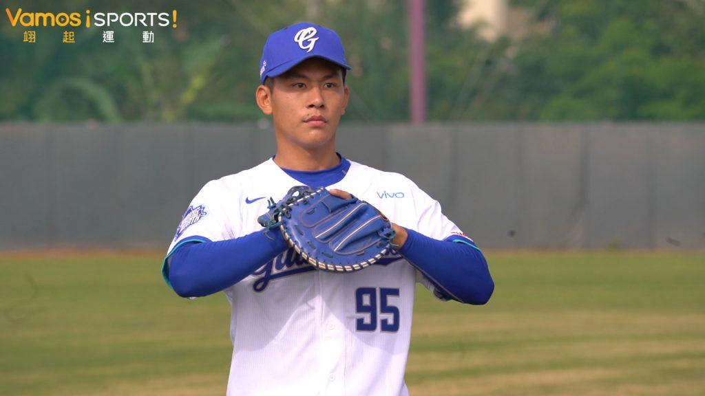 棒球》狀元戴培峰首次春訓  新球季目標把球接好