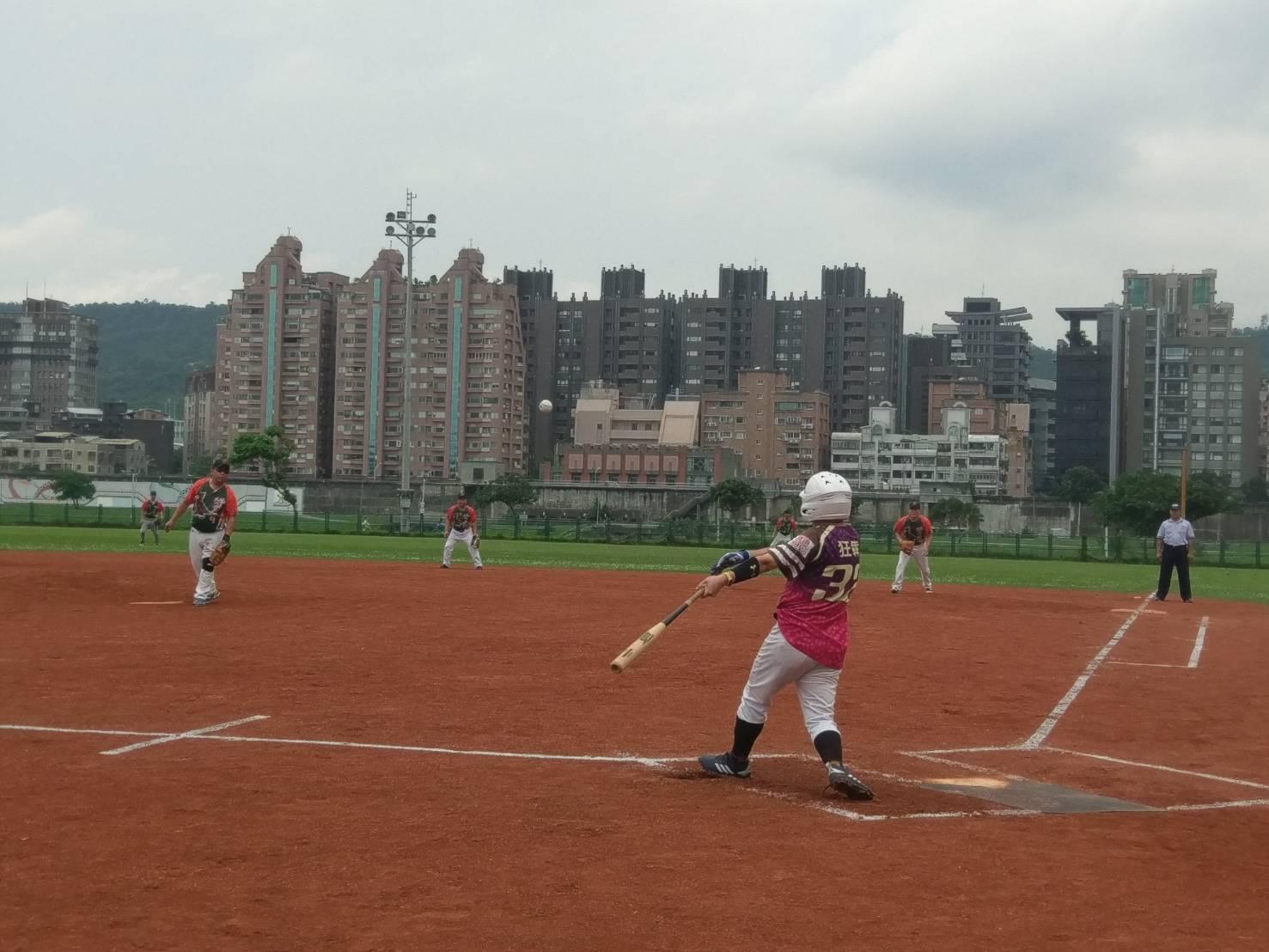 臺北市慢速壘球社區聯誼賽   189隊熱力開打